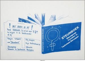 Uitgave van het steunboek in 1982